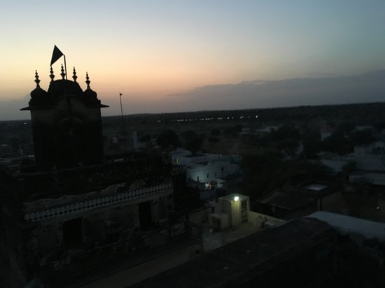 Narayan Niwas Castle: View from the terrace