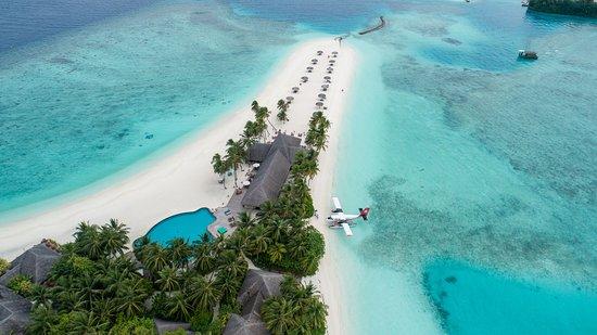 Veligandu Island Resort & Spa: Aerial