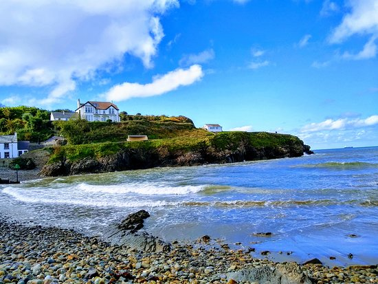 Little haven cove, the pub is just around the corner.