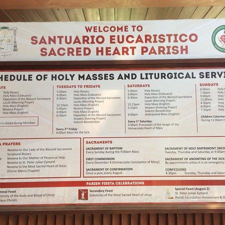 Santuario Eucaristico - Sacred Heart Parish
