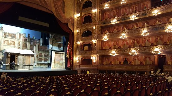 Teatro Colon: Majestuoso.
