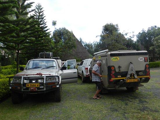 Kisii, Kenya: Our camping spot