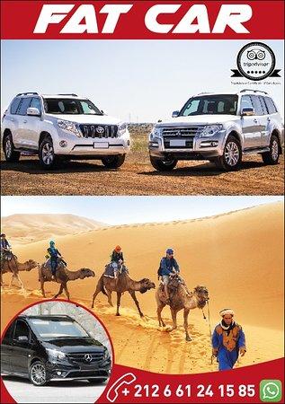 Évasion au désert marocain avec FAT CAR