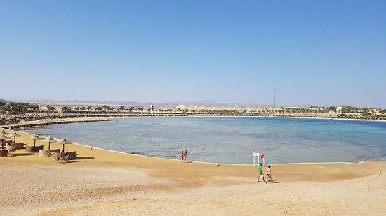 Perfetto pulito mare sole relax