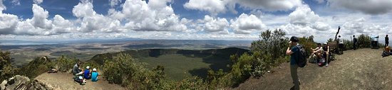 Hell's Gate National Park : Hells gate national park,lake Oloiden and mt longonot national park.real adventure.