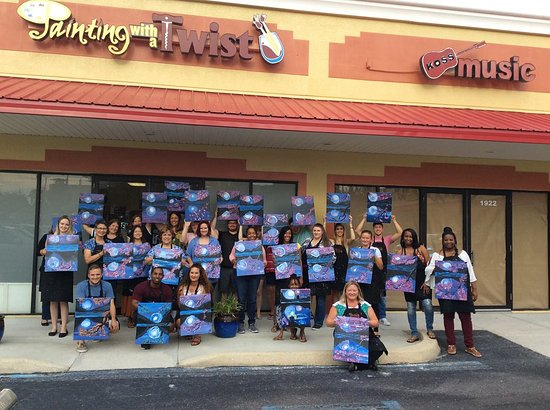 Painting With A Twist - Wesley Chapel
