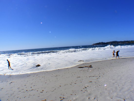 Carmel Beach Boardwalk