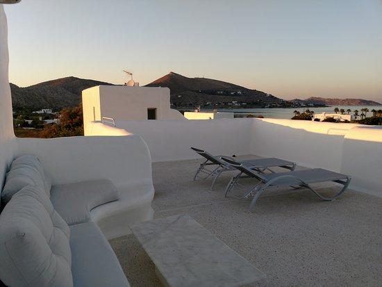 Livadia, กรีซ: Balcony view