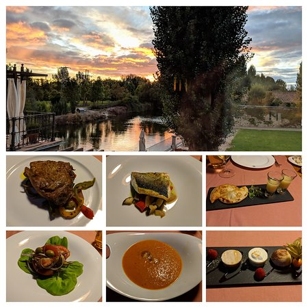 Valverdon, Spain: 6 course taking menu - amazing!