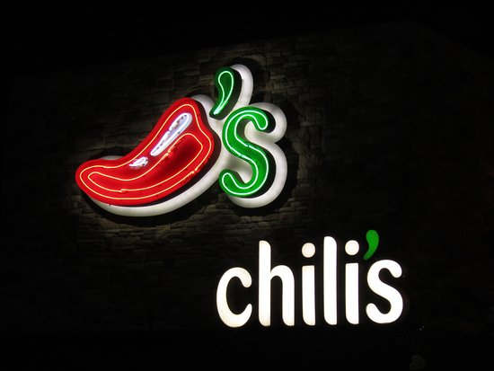 Chili's: Appealing sign.