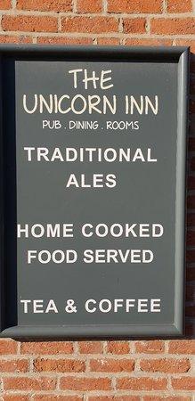 Newton Solney, UK: The Unicorn Inn