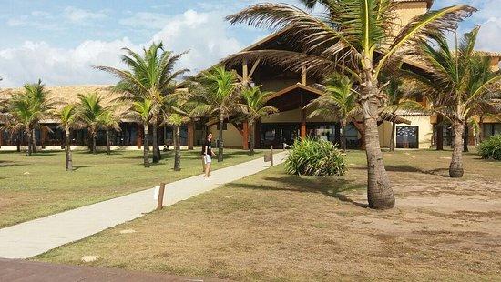 Barra dos Coqueiros, SE: Recepção do hotel