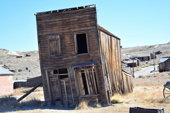 Dilapidated building in Bodie