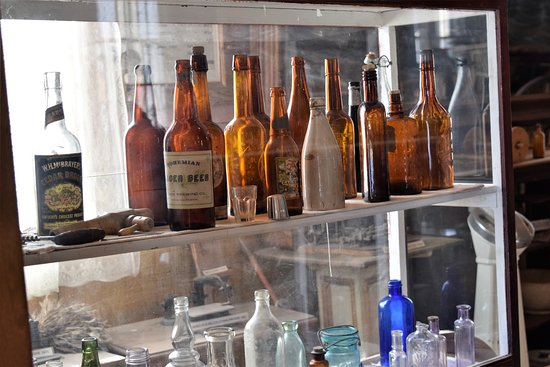Bottles in the museum