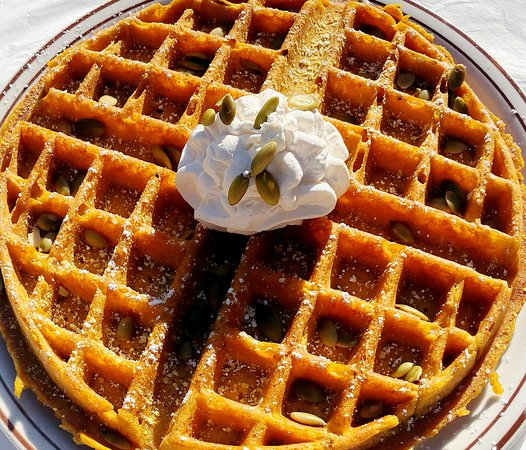 Country Waffles: Fall Special - Pumpkin Waffles