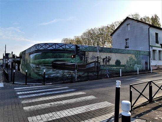 Fresque Le Canal