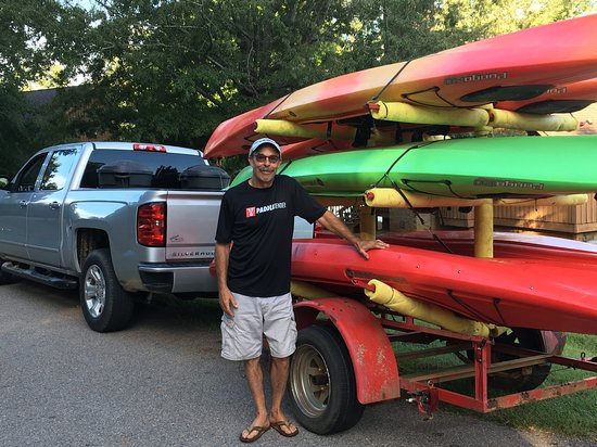 Prosperity, SC: Tom Craddock of Hat Creek Adventures