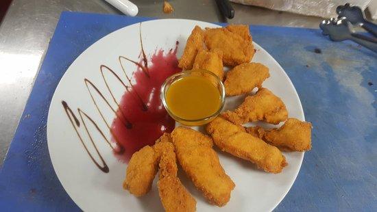 nuggets de pollo,UNA PASADA