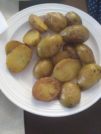 Rajecké Teplice, Eslovaquia: Opekané zemiaky