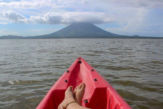Soak in the views of Conception Volcano