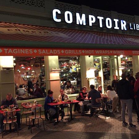 Comptoir libanais london liverpool st city of london - Comptoir restaurant london ...