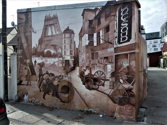 Fresque Paris 1900