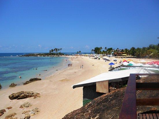 Segunda Praia: Segunda playa, aguas tibias y limpidas.