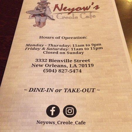 Fotografia de Neyow's Creole Cafe