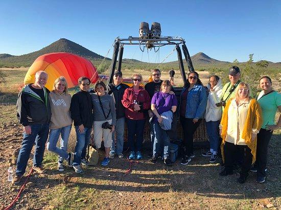 Phoenix Hot Air Balloon Morning Ride: Group Photo