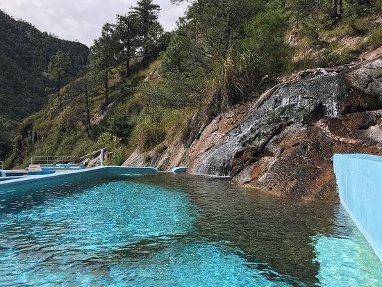 Copper Canyon, México: Recowata Hot Springs near Creel