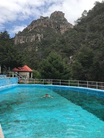 Recohuata Hot Spring: Recowata Hot Springs near Creel