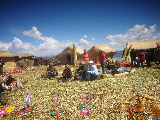 Puno Region, Peru: Un buen descanso en La Isla Los Uros