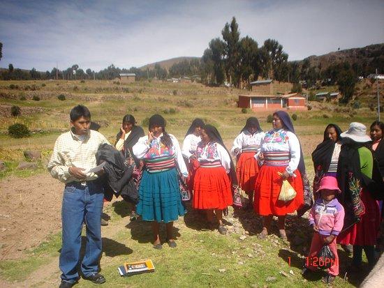 Puno Region, Peru: Llegada a la Isla Amantani