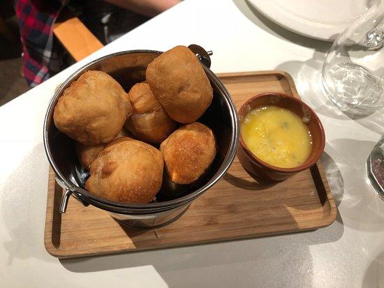 Jam Jar: Garlic dough balls