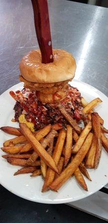 Childress, TX: Mugshot Burger