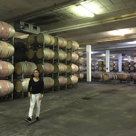 Friendly Tour of cellar and wine tasting