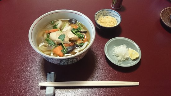 Kamata: 昼食 (女将さんのお手製)