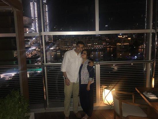 An evening At Armani Amal