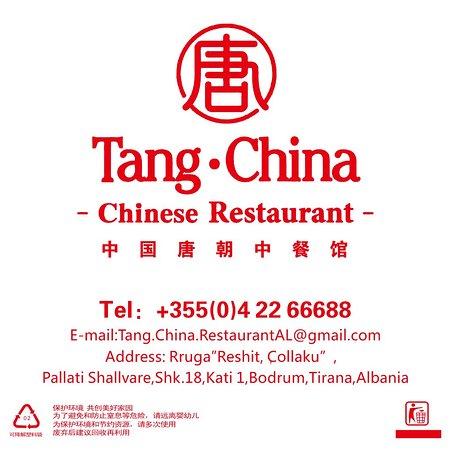Tirana County, Albanien: 中国唐朝中餐馆