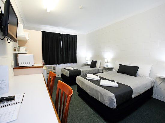 Twin rooms with a Double and Single bed