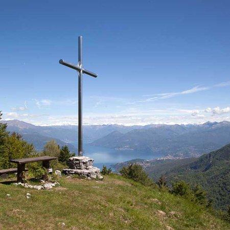 Casalzuigno, Włochy: Biking Trail Monte Nudo - Monte San Martino