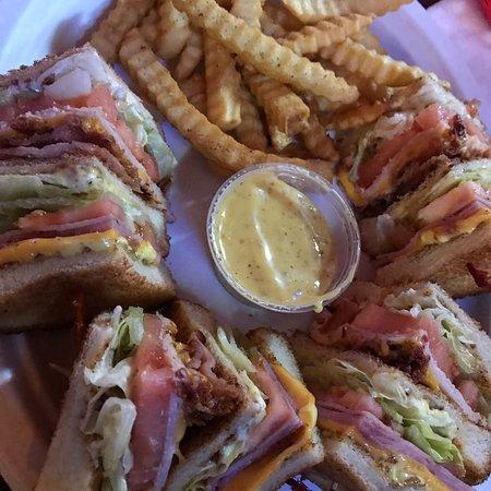McComb, มิซซิสซิปปี้: Club sandwich