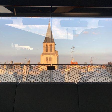 le montana hotel bar rooftop restaurant paris 6th arr luxembourg restaurant reviews. Black Bedroom Furniture Sets. Home Design Ideas