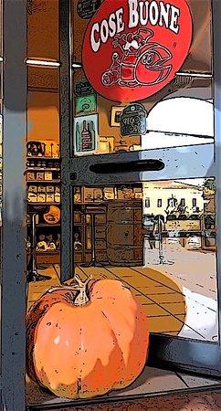 Pegognaga, Italien: Ma quanto pesa la zucca di Cose Buone? Indovinalo! Giovedì 25 Ottobre dalle ore 20.30 Cena Zucca