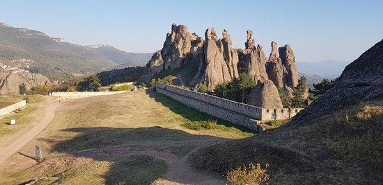 Belogradchik, Bulgaristan: Late sun on the rocks