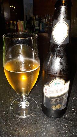 Cafe Arabe: nice beer cool name