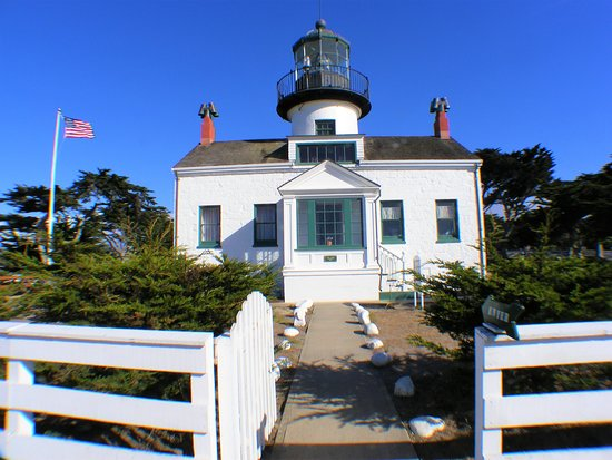 Point Pinos Lighthouse: The Lighthouse.