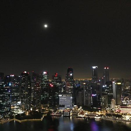 Window View - Marina Bay Sands Photo