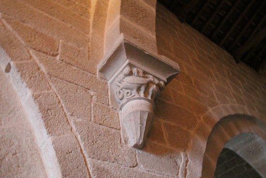 Xunqueira De Espadanedo, Spain: capitel