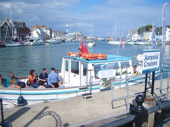 Boat trips along Dorset's famous Jurassic Coast depart from Weymouth Harbour